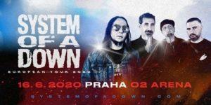 System of a Down @ Praha, O2 arena | Hlavní město Praha | Česko