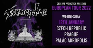 Tormentor, Cult of Fire @ Praha, Palác Akropolis | Hlavní město Praha | Česko