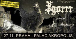 Igorrr, Otto von Schirach, Drumcorps @ Praha, Palác Akropolis | Hlavní město Praha | Česko