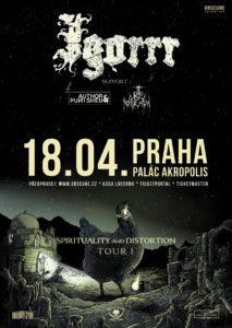 Igorrr, Author & Punisher, Otto von Schirach @ Praha, Palác Akropolis | Hlavní město Praha | Česko