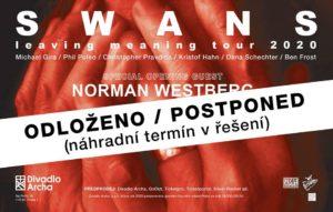 Swans + spec. guest: Norman Westberg @ Praha, Divadlo Archa | Hlavní město Praha | Česko