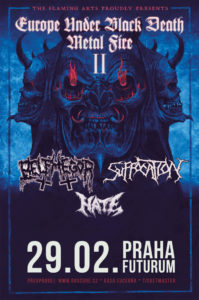 Belphegor, Suffocation, Hate @ Praha, Futurum Music Bar | Hlavní město Praha | Česko