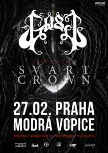 GosT, Svart Crown @ Praha, Modrá Vopice | Hlavní město Praha | Česko
