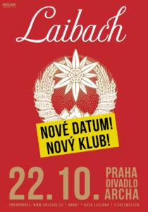 Laibach @ Praha, Divadlo Archa | Hlavní město Praha | Česko