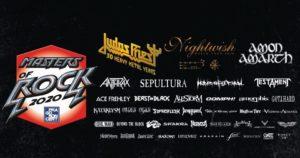 Masters of Rock 2020 @ Vizovice, Areál Likérky R. Jelínek | Vizovice | Zlínský kraj | Česko