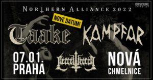 Taake, Kampfar, Necrowretch @ Praha, Nová Chmelnice | Hlavní město Praha | Česko