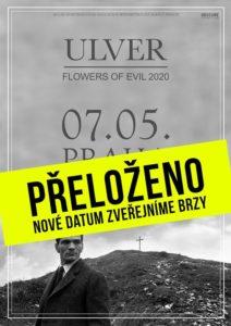 Ulver @ Praha, Palác Akropolis | Hlavní město Praha | Česko