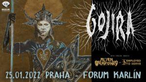 Gojira, Alien Weaponry, Employed to Serve @ Praha, Forum Karlín | Hlavní město Praha | Česko