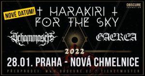 Harakiri for the Sky, Schammasch, Gaerea @ Praha, Nová Chmelnice | Hlavní město Praha | Česko